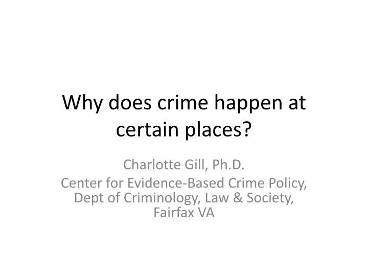 why does crime exist in society In criminology, examining why people commit crime is very important in the ongoing debate of how crime should be handled and prevented many theories have emerged over the years, and they continue to be explored, individually and in combination, as criminologists seek the best solutions in.