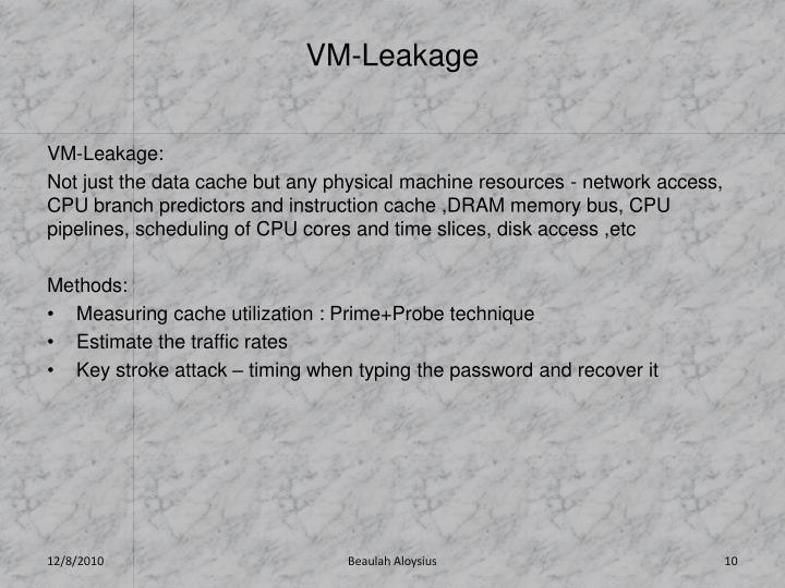 VM-Leakage