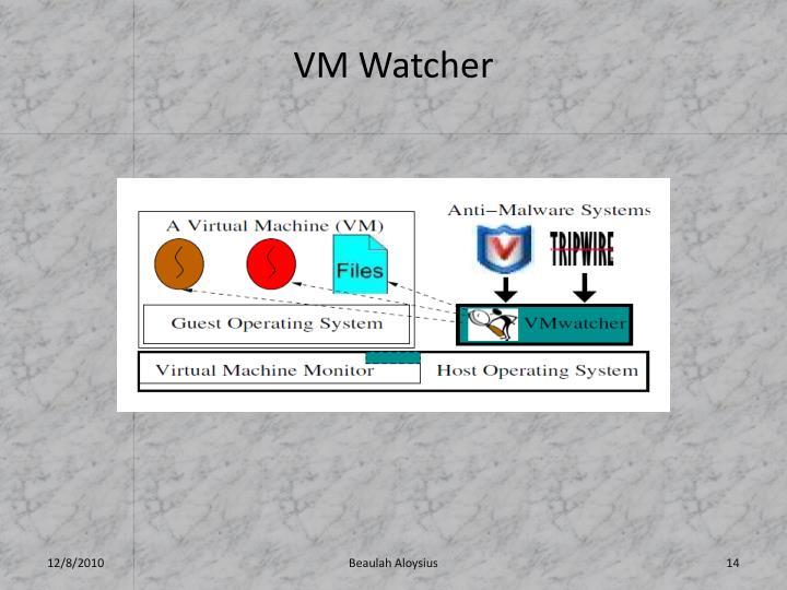 VM Watcher