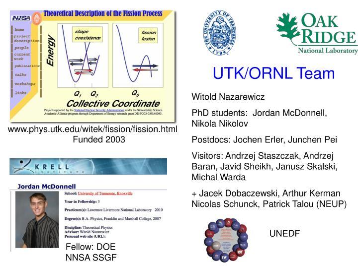 UTK/ORNL Team