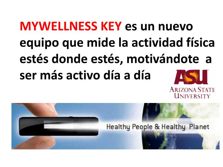 MYWELLNESS KEY