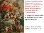 rubens henri iv re oit le portrait de la reine 1622