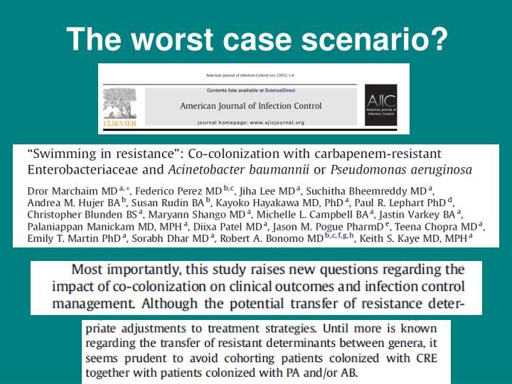 The worst case scenario?