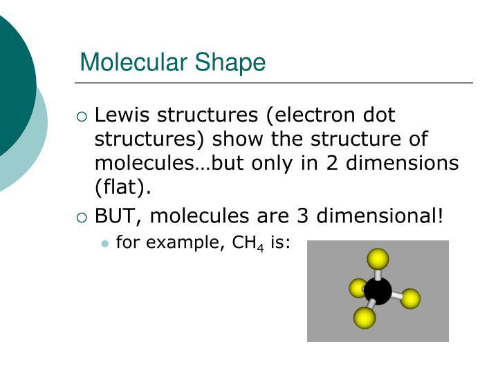 Molecular Shape
