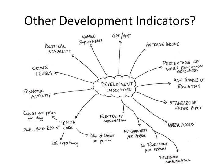 Other Development Indicators?