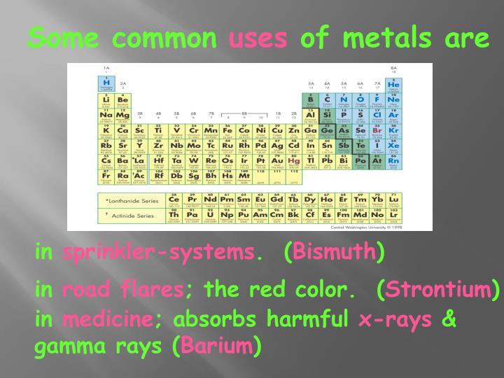 Some common