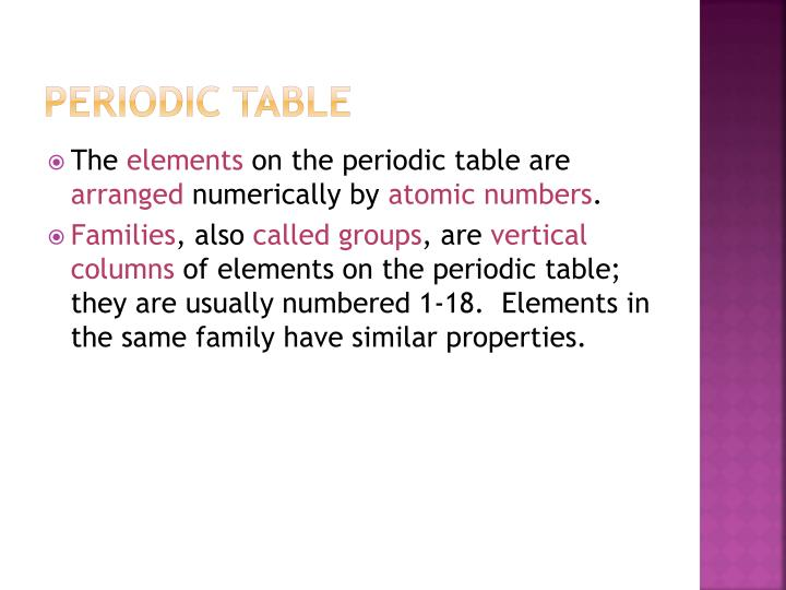 Ppt metals and nonmetals powerpoint presentation id1996792 periodic table urtaz Choice Image