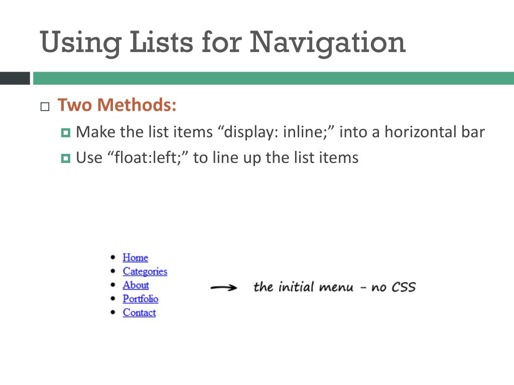 PPT - LIST ITEMS PowerPoint Presentation - ID:1997195