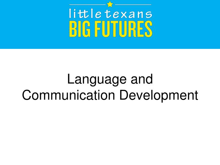 skills for communication and language acquisition Bilingual language acquisition beginning in infancy introduction how one acquires the skill to be bilingual has been a subject of interest to me especially during - language is a form of behaviour, used by people every day as a tool for communication and making meaning (green, 2006.
