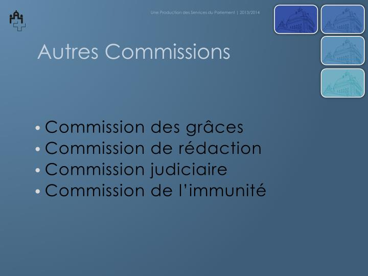 Commission des