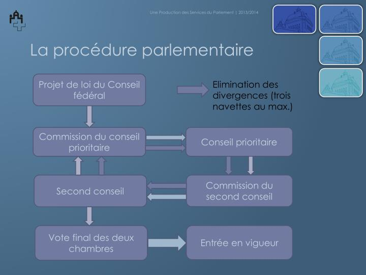 Une Production des Services du Parlement   2013/2014