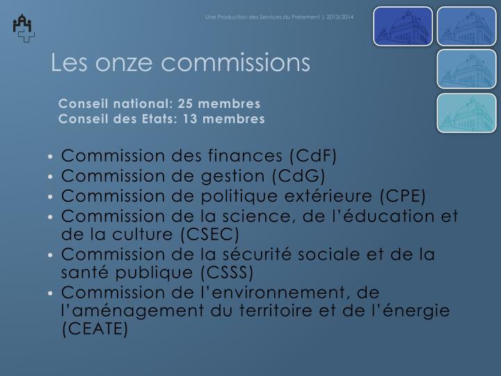 Commission des finances (