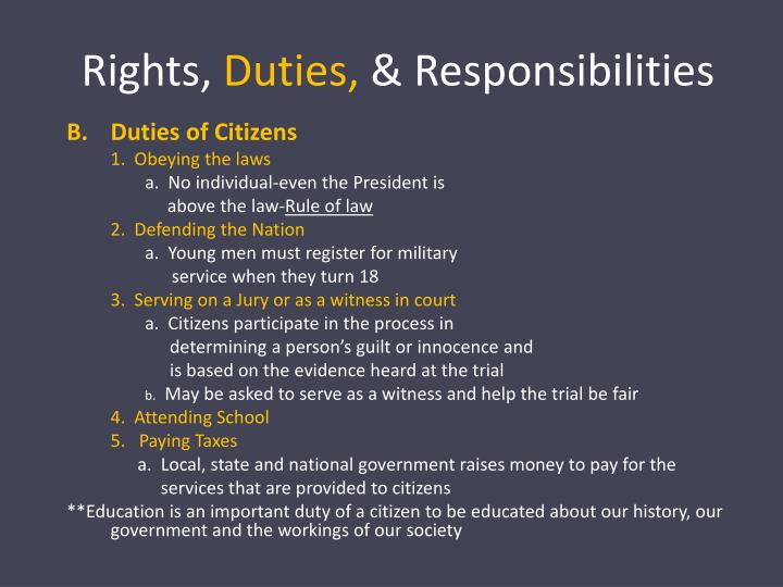 Rights,