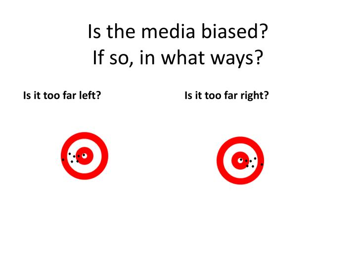 Is the media
