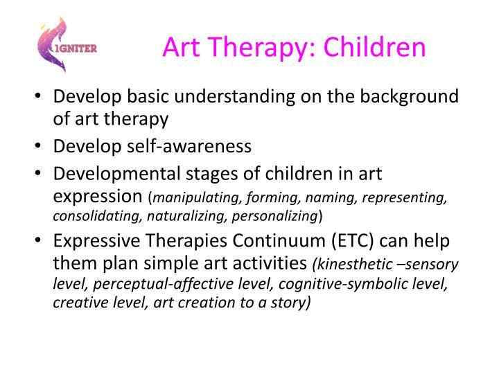 Art Therapy: Children