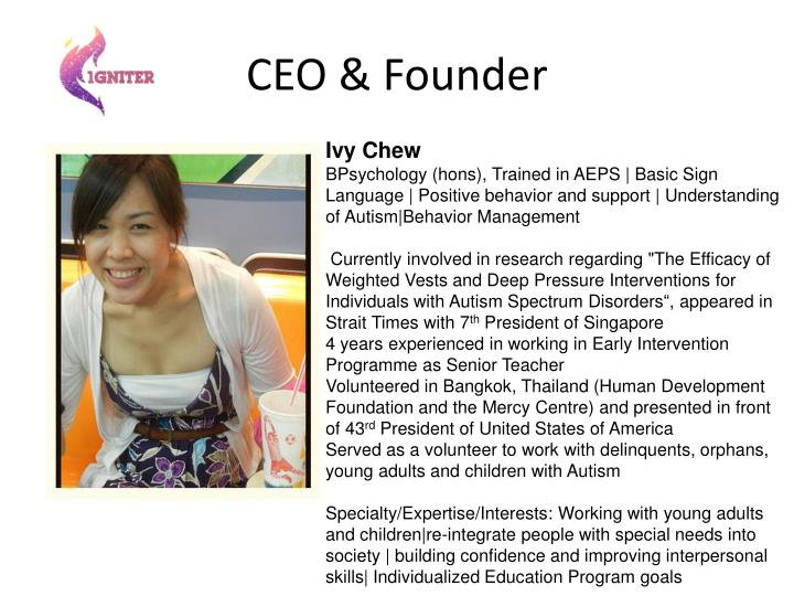 CEO & Founder