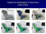 impact on landscapes resources lake chad
