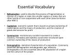 essential vocabulary