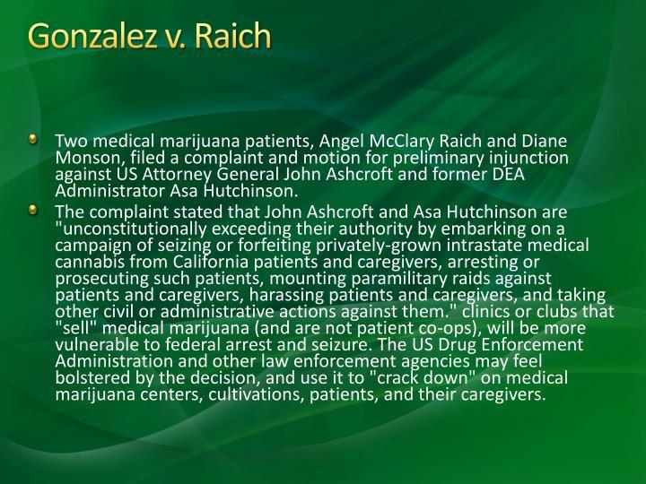Gonzalez v. Raich