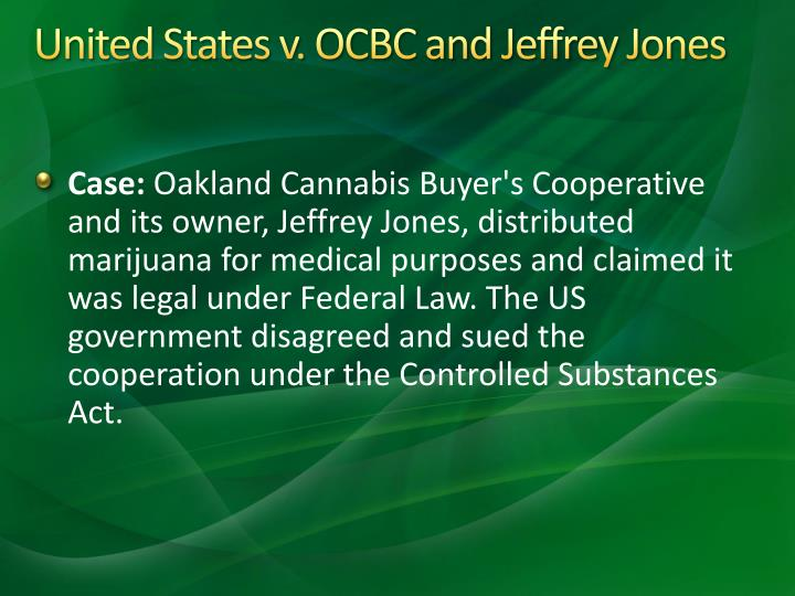 United States v. OCBC and Jeffrey