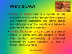 what is law1