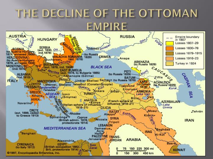 THE DECLINE OF THE OTTOMAN EMPIRE
