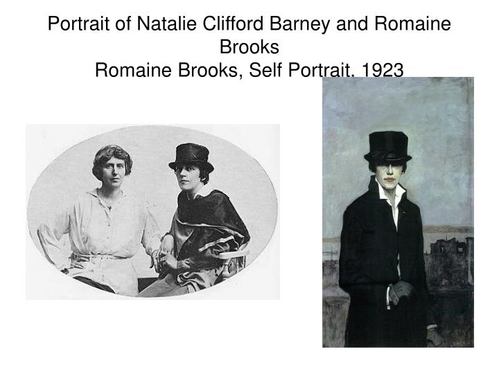 Portrait of Natalie Clifford Barney and Romaine Brooks