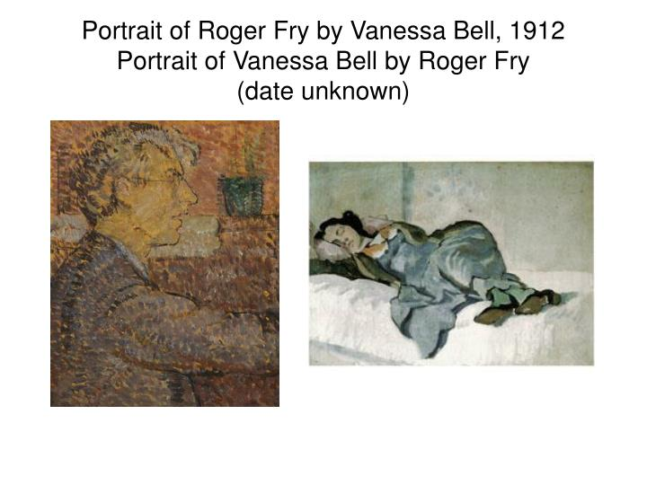 Portrait of Roger Fry by Vanessa Bell, 1912