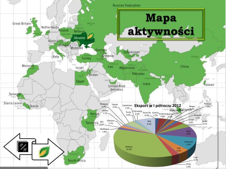 Mapa aktywności