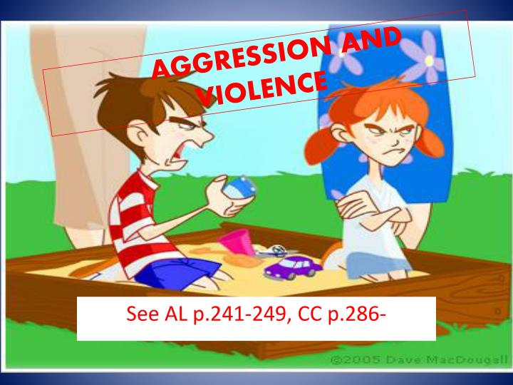 aggression and violence n.