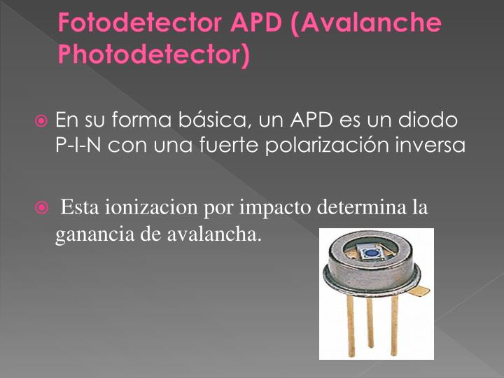 Fotodetector