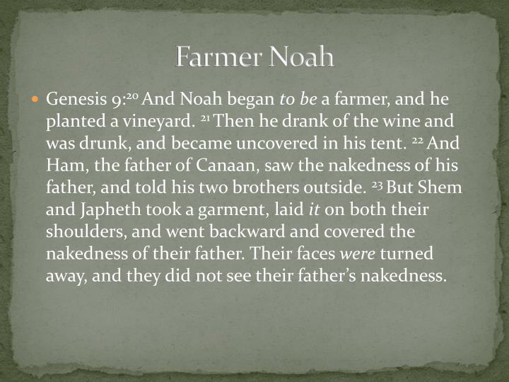 Farmer Noah