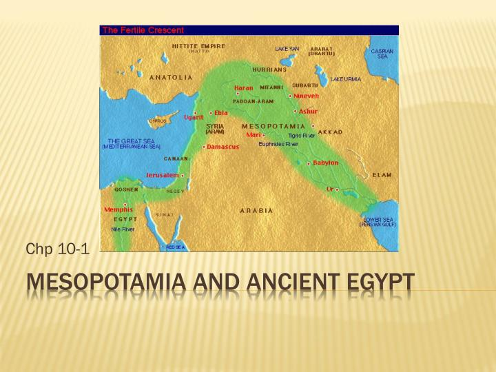 an overview of mesopotamia ancient egypt The great age of ancient egypt lasted ca 3000-1000 bc (see history of the ancient middle east) for the most part, the style of egyptian art throughout this period (and centuries beyond) changed very little.