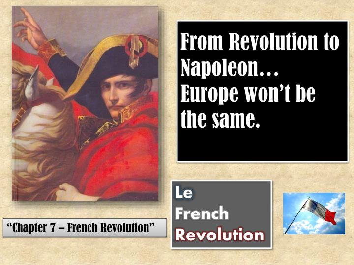 from revolution to napoleon europe won t be the same n.