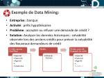 exemple de data mining
