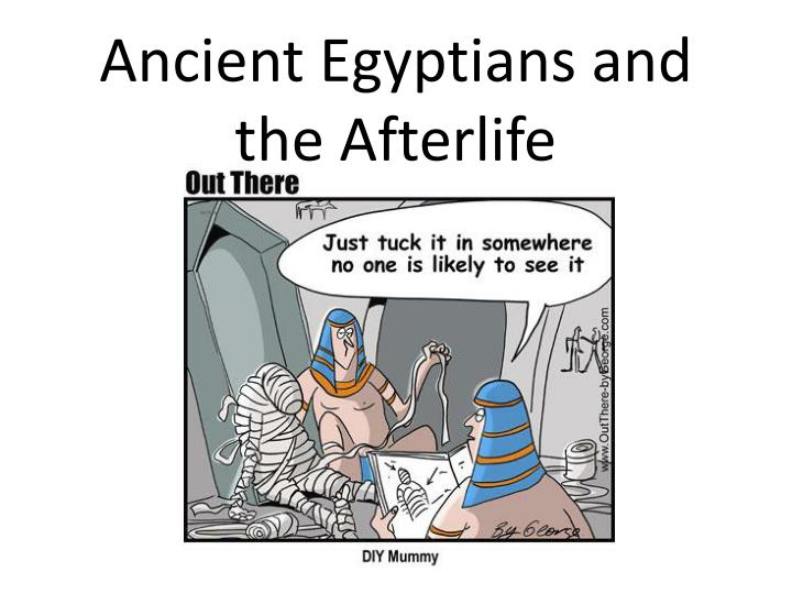 egyptian death and afterlife
