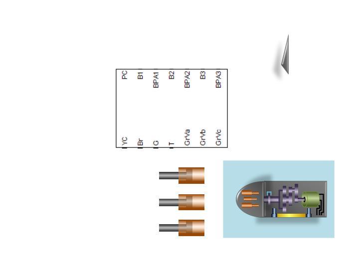 Input valve displacement