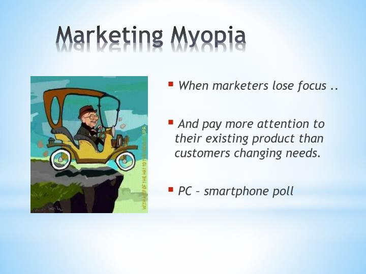 marketing myopia case Marketing myopia 2 harvard case study solution and analysis of harvard business case studies solutions – assignment helpin most courses studied at harvard business schools, students are provided with a case study.