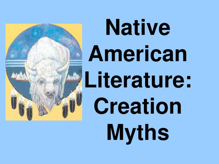 a literary analysis of the mythology of creation of the world