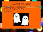 november 5 2013