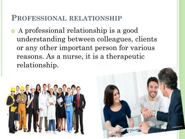 Professional relationship