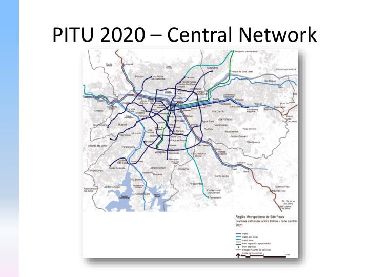 PITU 2020 – Central Network