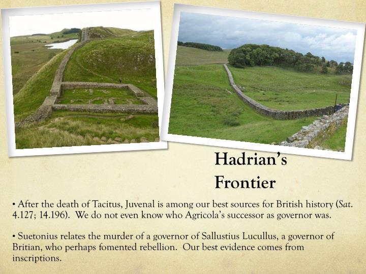Hadrian's Frontier