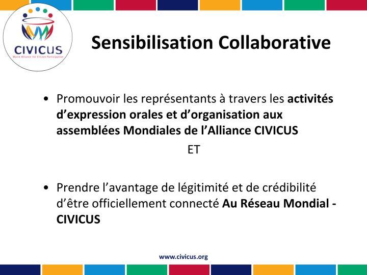 Sensibilisation Collaborative