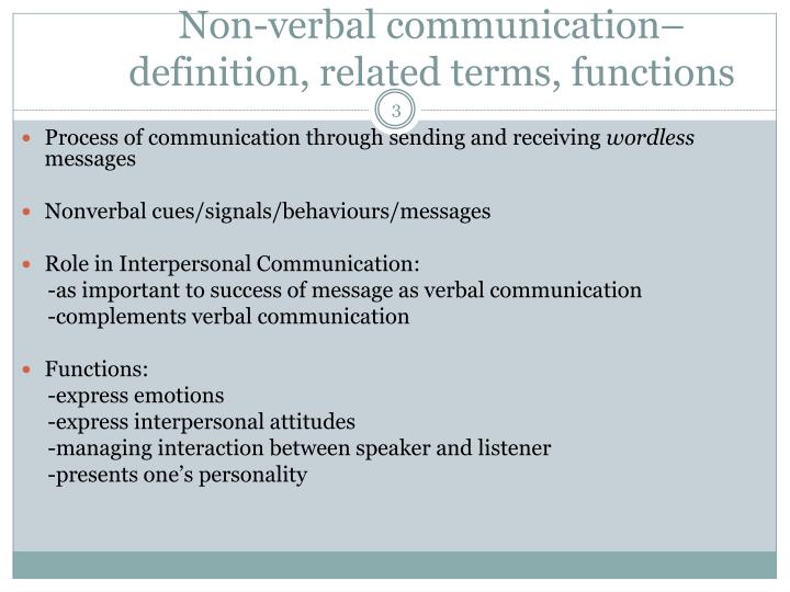 how does nonverbal communication complement verbal communication