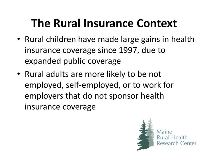 The Rural Insurance