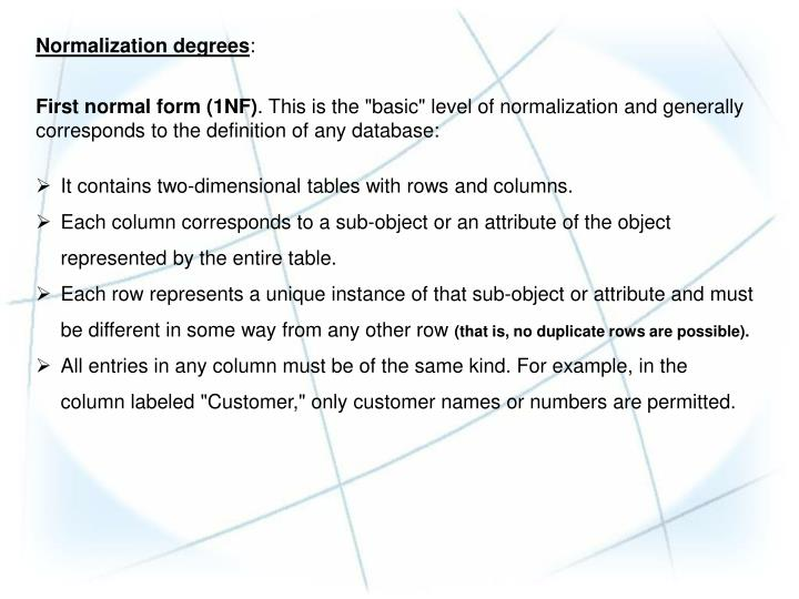ppt chapter dimensional modeling advanced topics powerpoint nor zation degrees