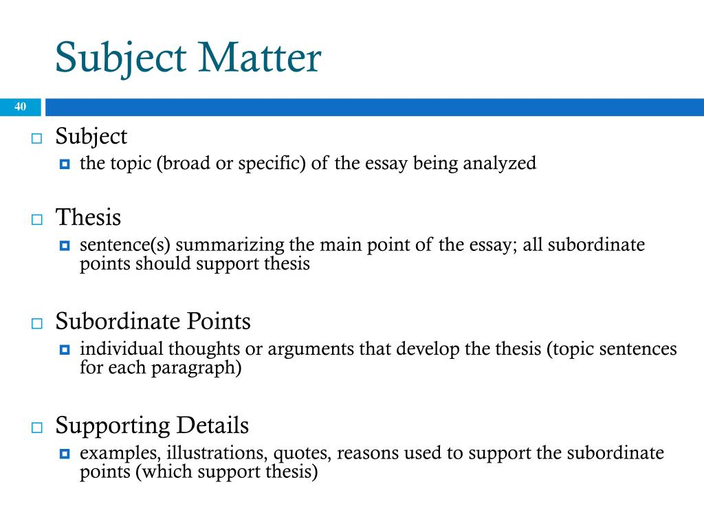 ppt   the essay powerpoint presentation   id