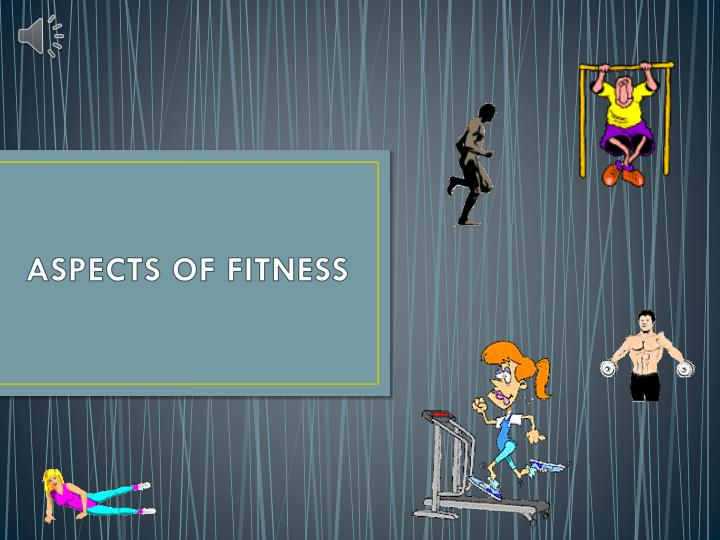 aspects of fitness n.
