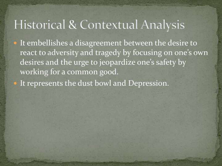 Historical & Contextual Analysis